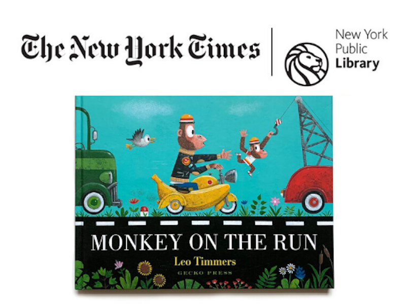 Monkey on the Run - The New York Times