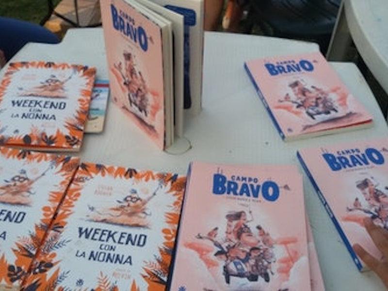 Italian editions of 'Campo Bravo' en 'Hier waakt oma'