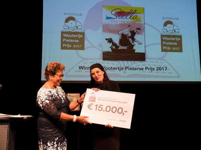 Woutertje Pieterse Prijs 2017 voor Gerda Dendooven - (c) foto Chris van Houts