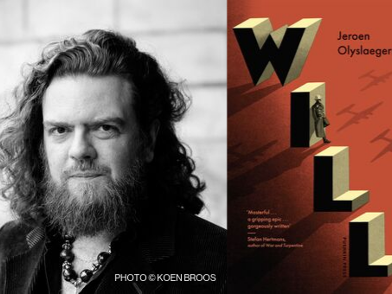 Jeroen Olyslaegers and the English edition of 'Will'