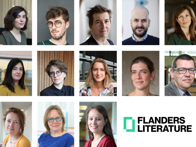 The Flanders Literature team