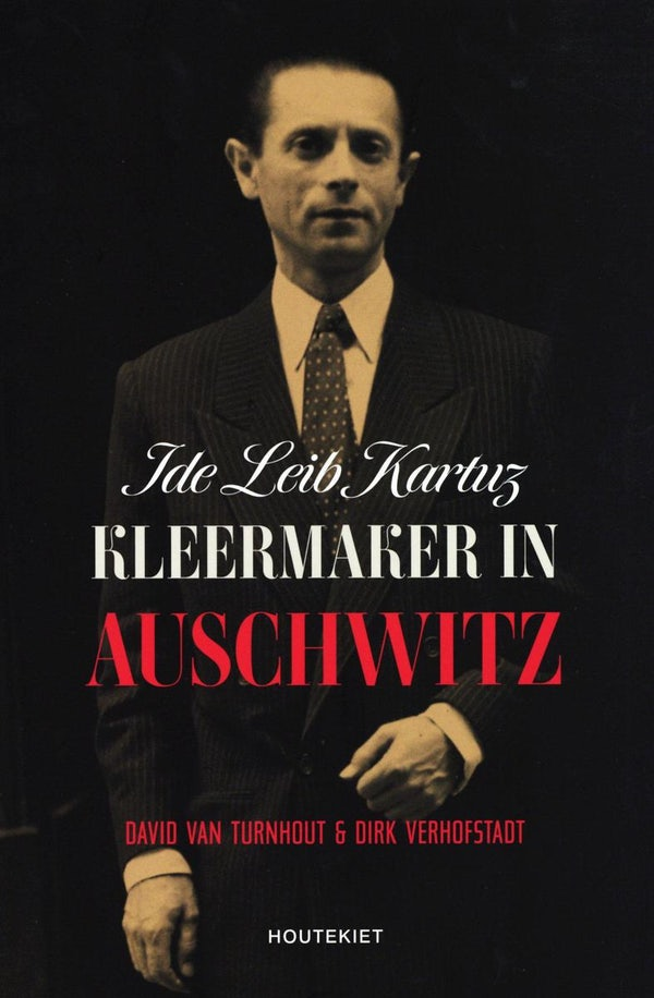 Cover 'A Tailor in Auschwitz'