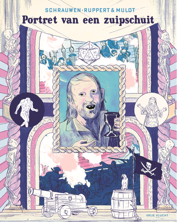 Cover 'Portrait of a Boozehound'