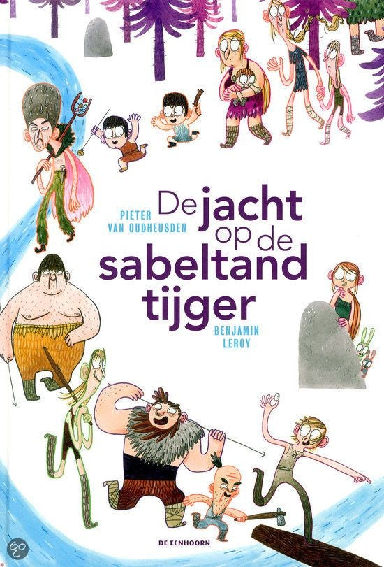 Cover - The Hunt for the Sabre-toothed Tiger