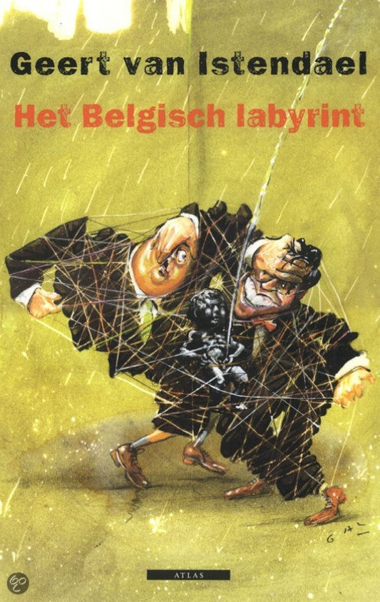 Cover The Belgian Labyrinth