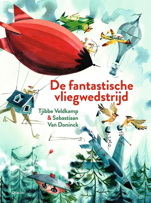 Cover of The Fantastic Flying Competition