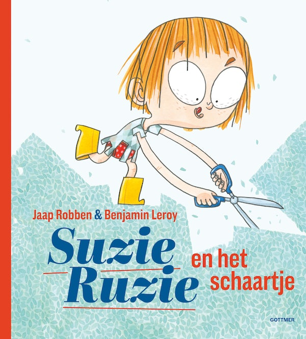 Cover Suzy Doozy and the Scissors