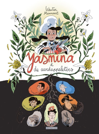 Cover 'Yasmina and the Potato Eaters'