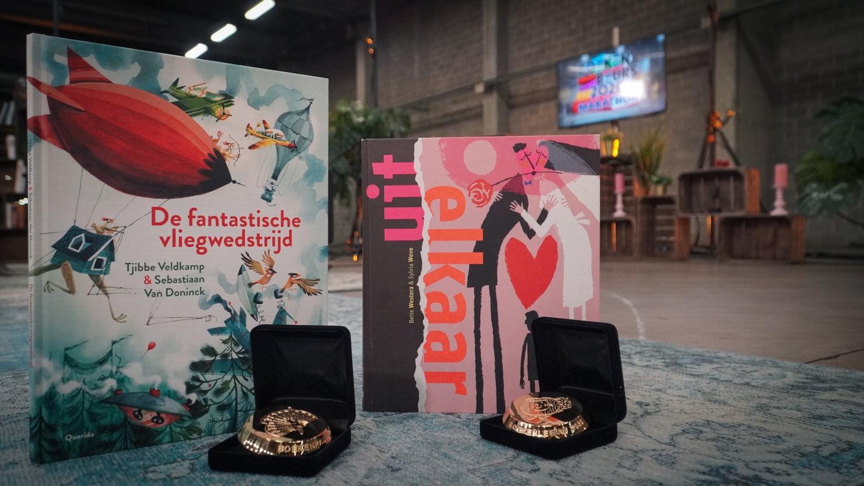 The Boekenleeuw and Boekenpauw winners 2020