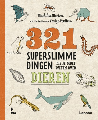 Cover of 321 Seriously Smart Things You Need To Know About Animals