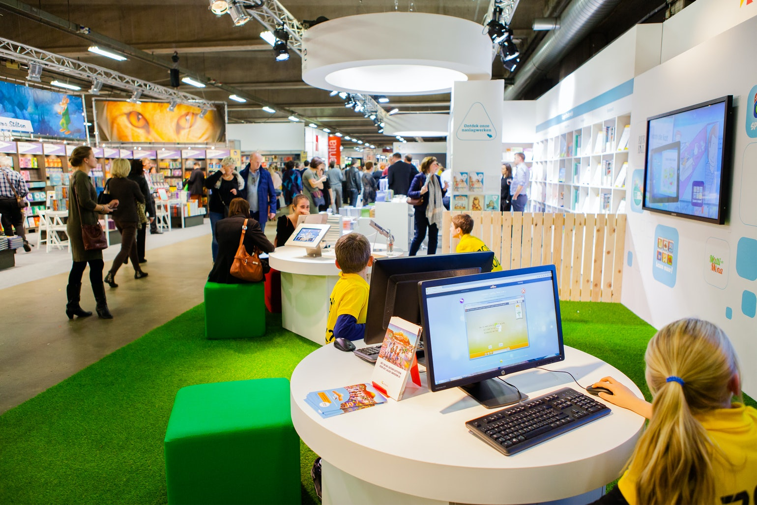 The Antwerp Book Fair.