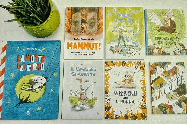 Italian translations of Flemish children's books