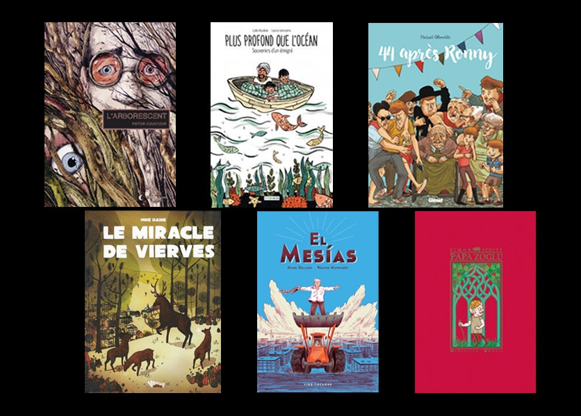 Covers French translations