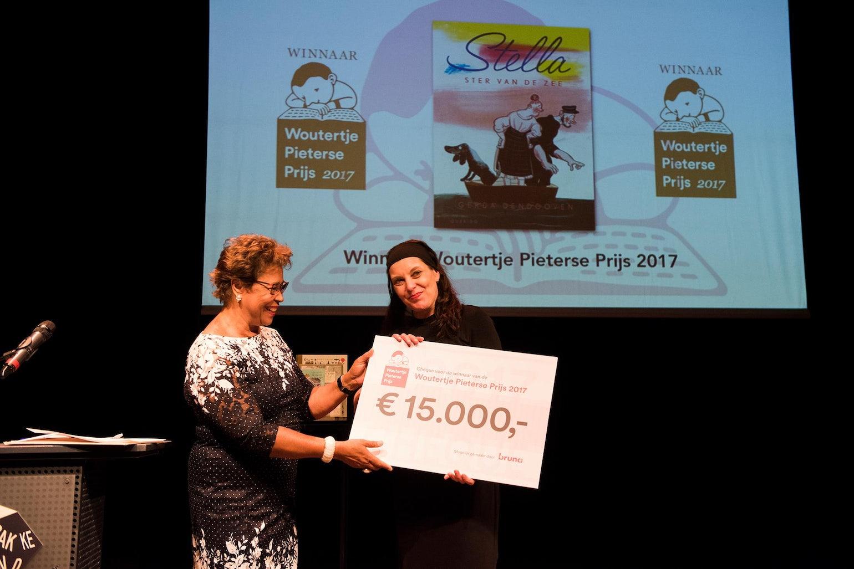 Woutertje Pieterse Prize 2017 Gerda Dendooven
