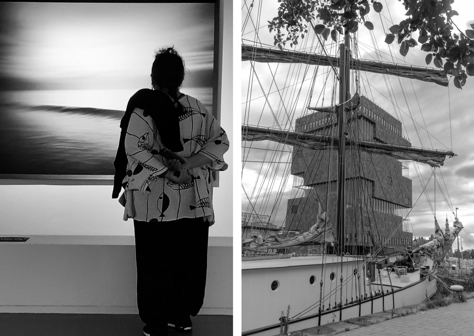 Antwerp in black and white: the Stephan Vanfleteren exhibition and a view of the MAS museum