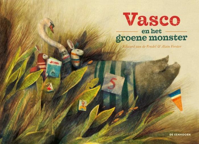 Cover Vasco and the Green Monster