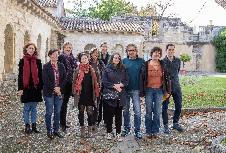 The participants of the translation workshop in France © Alex Nollet