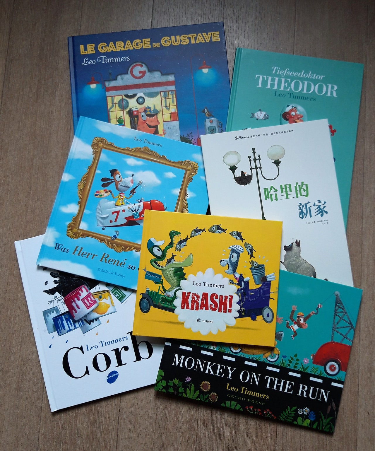 A selection of Leo Timmers' work in translation