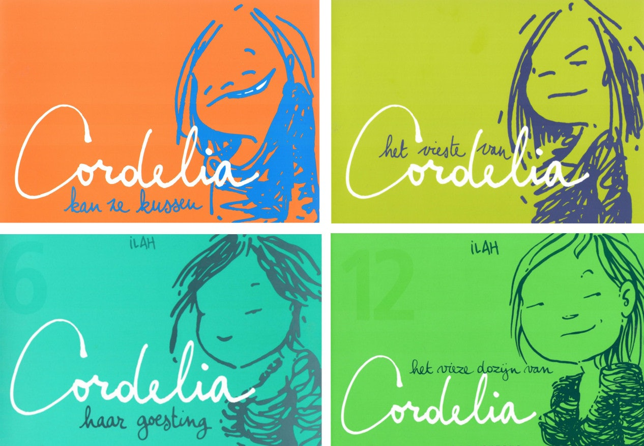 Covers of different Cordelia titles